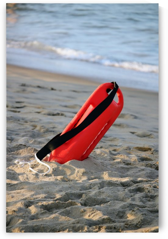 Lifeguard buoy by Michael Geyer