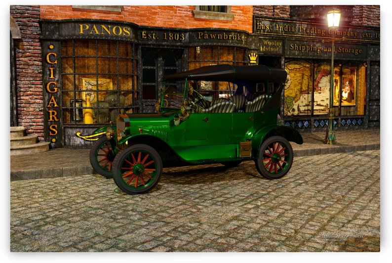 Ford Model T 4-Door 1924 by William D Panos Sr