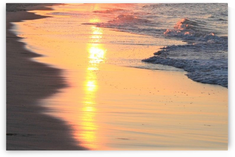 Sunset reflection by A_B_Goddess Photography