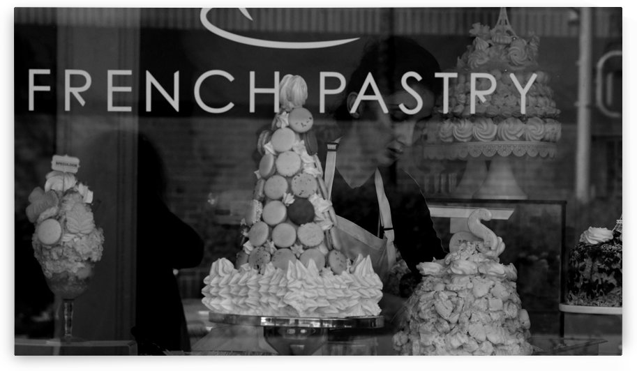 French Pastry Shop  by H.Hart Photography
