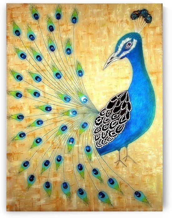 Peacock by Jayne Somogy