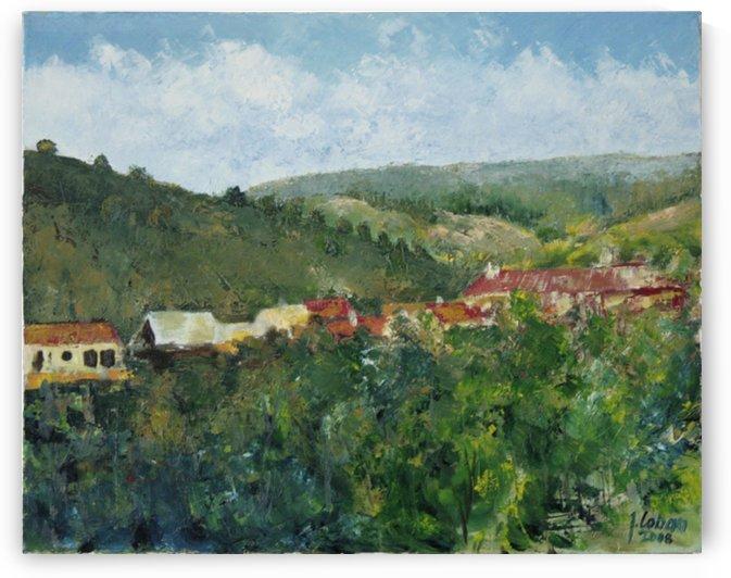 Village valley by Joseph Coban