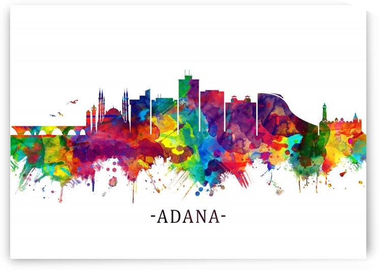 Adana Turkey Skyline by Towseef Dar