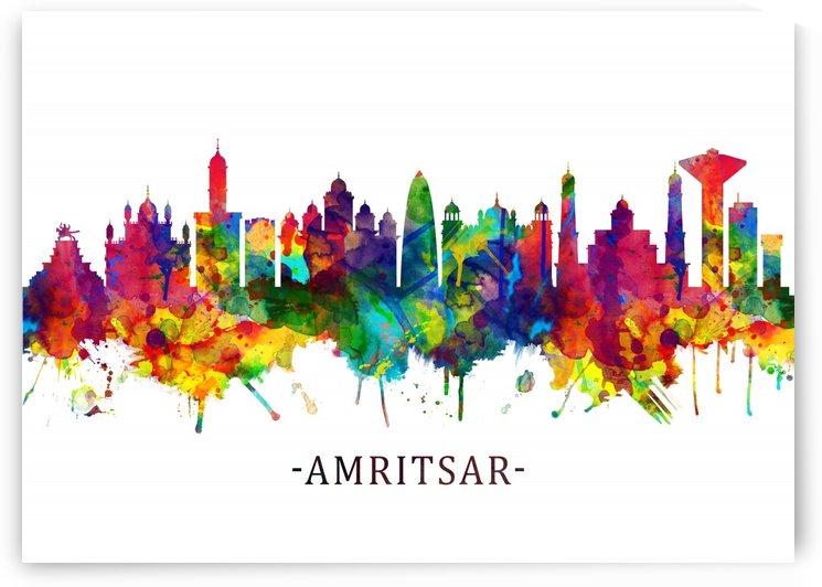 Amritsar Punjab Skyline by Towseef Dar
