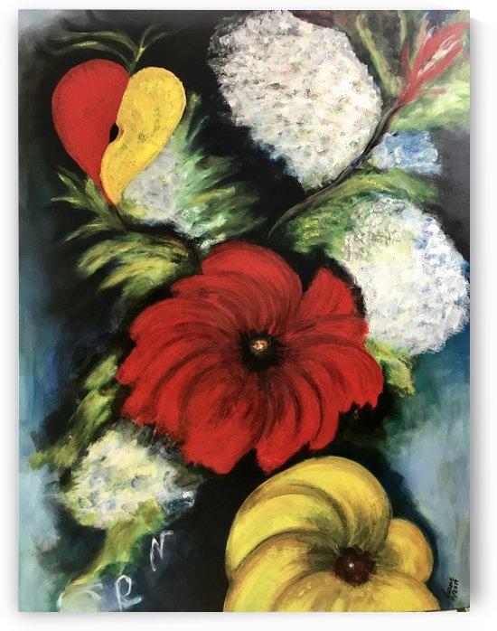Des Fleurs pour Nathalie by Marie Therese Lacroix