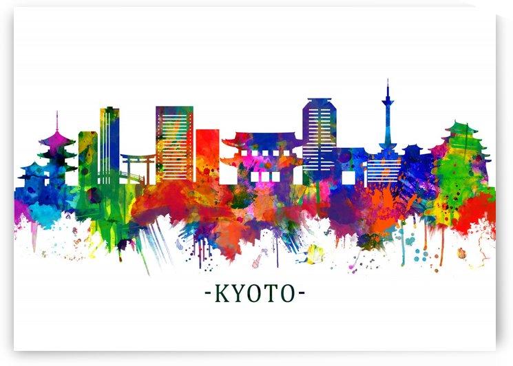 Kyoto Japan Skyline by Towseef Dar