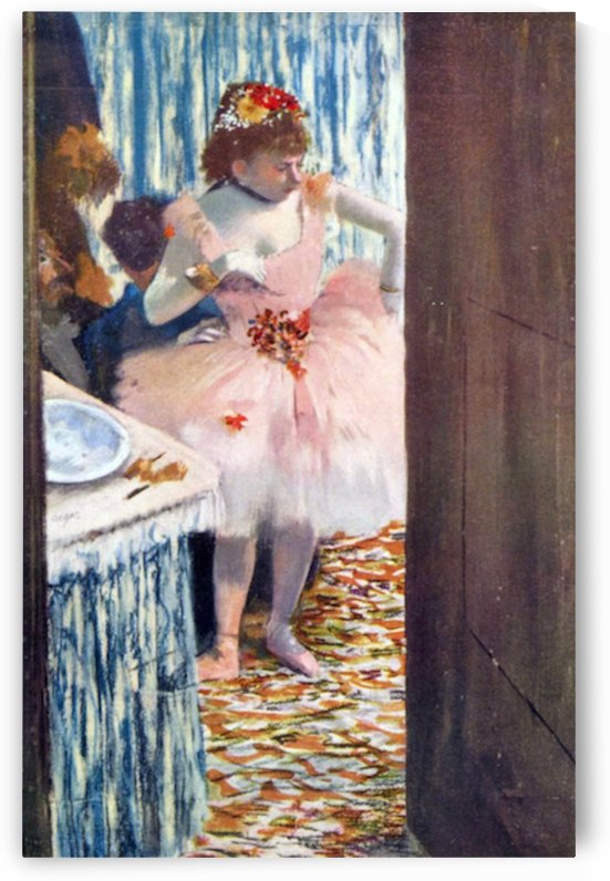 Dancer in the Loge by Degas by Degas