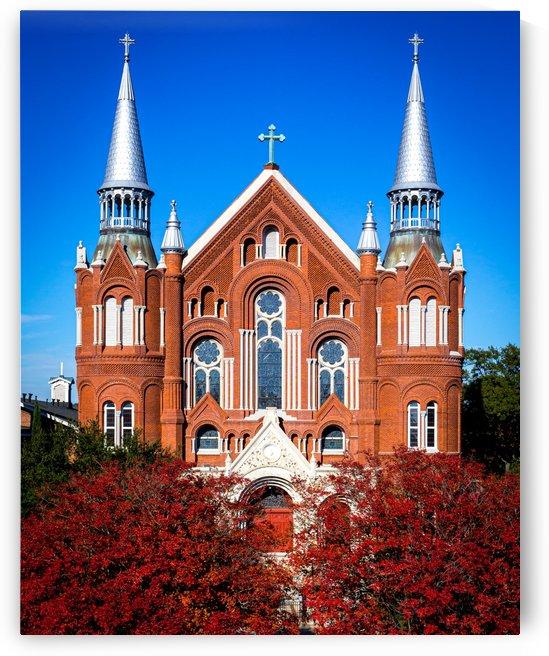 Sacred Heart Cultural Center Sixth Street Bridge Augusta GA by @ThePhotourist