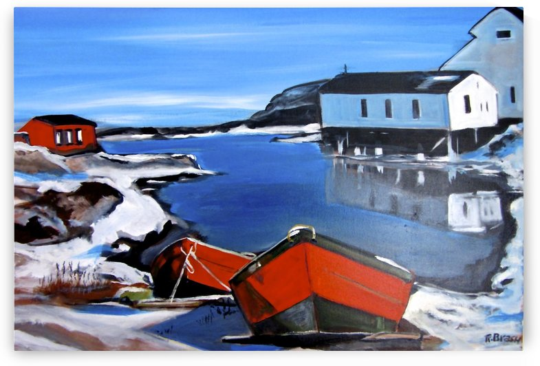 Winter Harbour by Roy Brash
