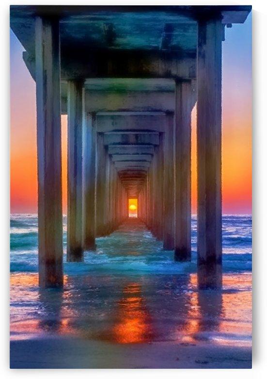 Sunset Pier by Patti Needham