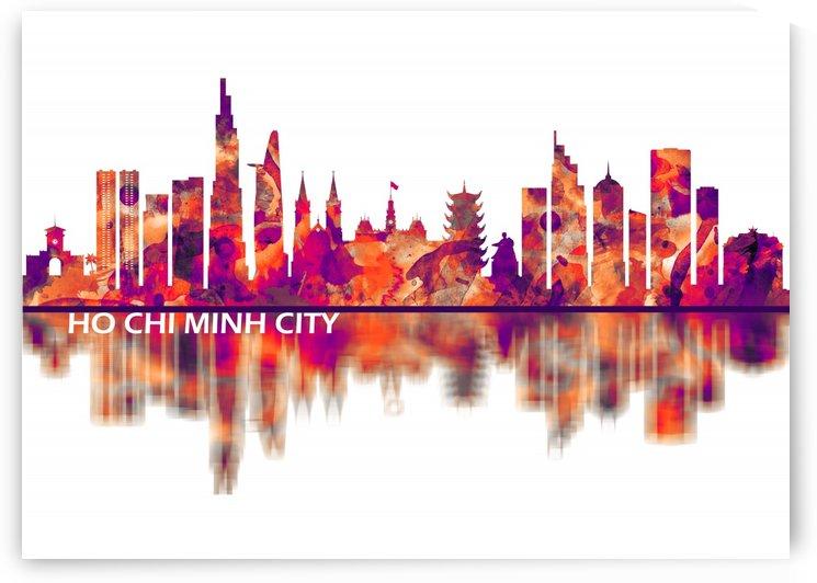 Ho Chi Minh City Vietnam Skyline by Towseef Dar