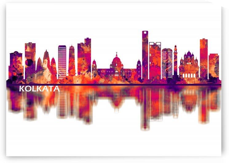 Kolkata West Bengal Skyline by Towseef Dar