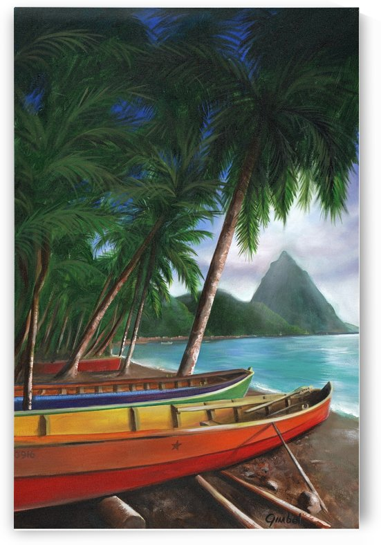 St. Lucia by Bill Gimbel