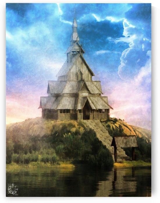 The Viking House by ChrisHarrisArt