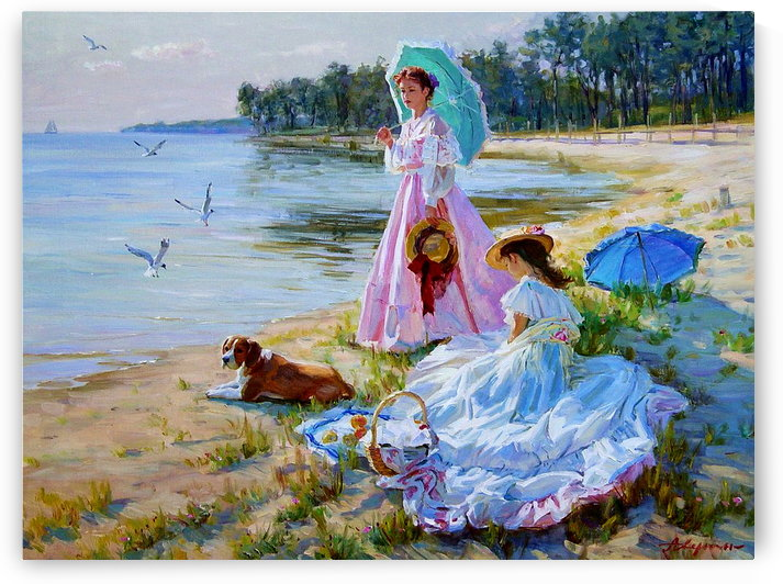 A picninc on the beach by Alexander Averin