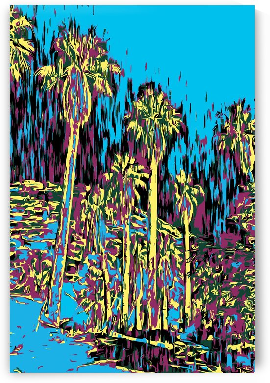 Palms in Oasis by Jarmila Kostliva Studio