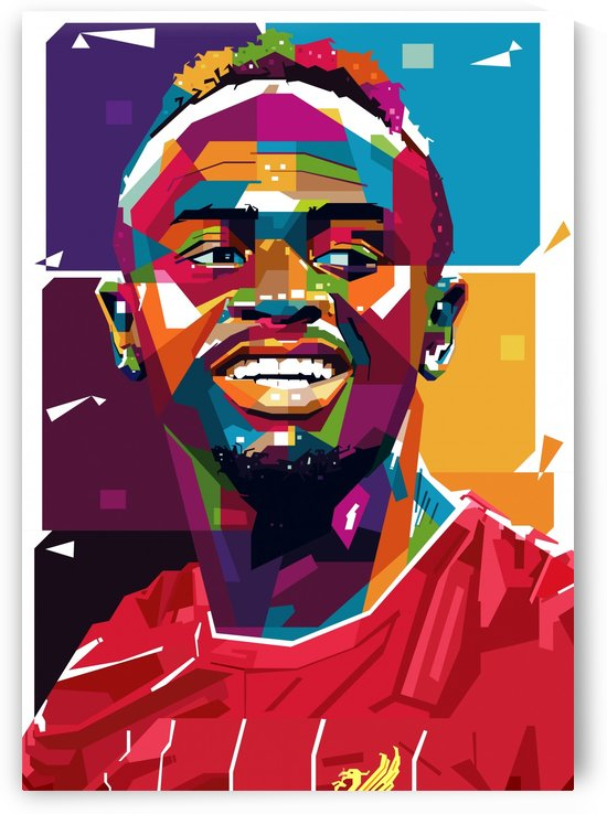 Sadio mane by artwork poster