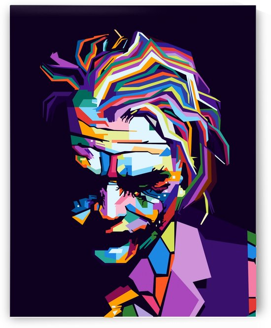 Joker by artwork poster
