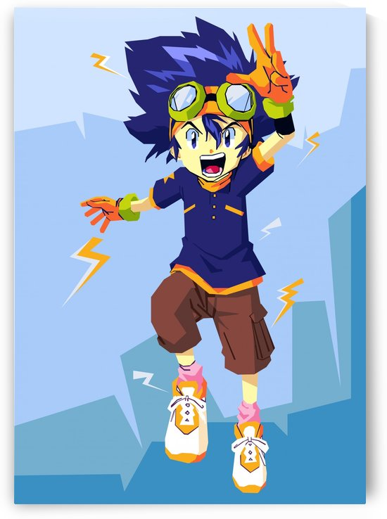 Digimon by artwork poster