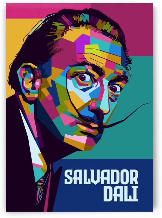 salvador dali by artwork poster