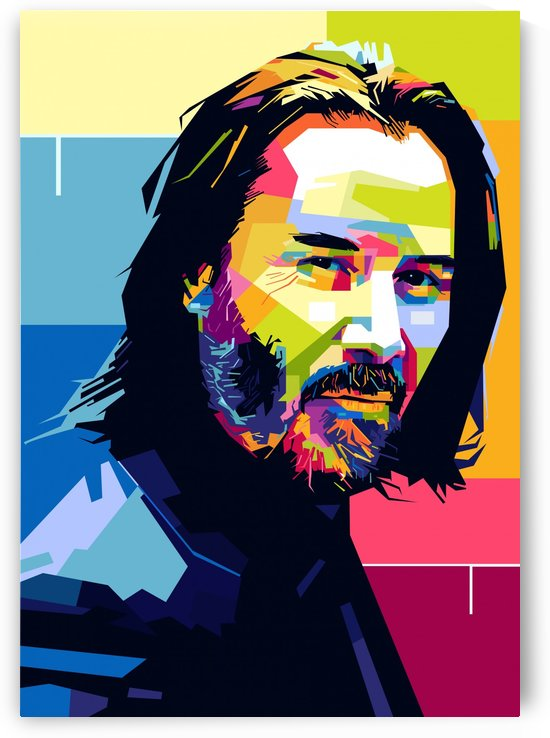 john wick by artwork poster