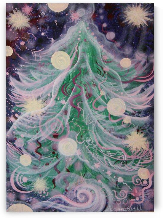 Christmas tree by Vlamy