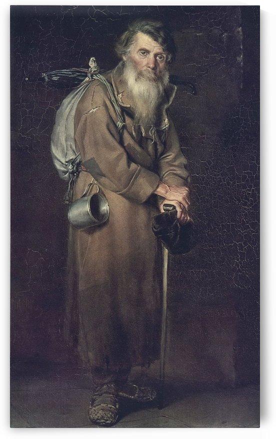 Strannik 1870 by Vasily Grigorievich Perov