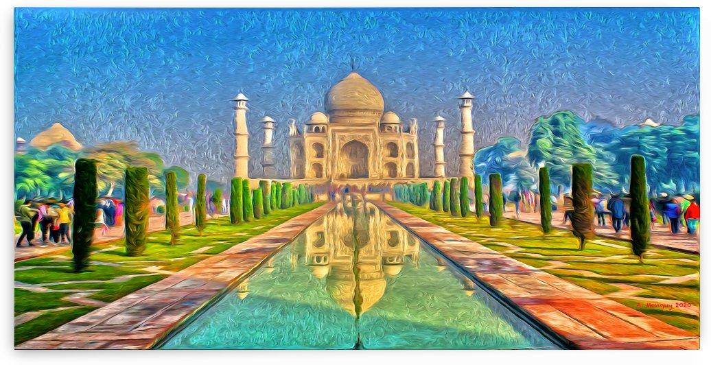 Taj Mahal  by Mentari Arts