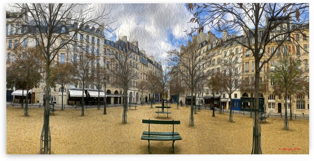 Place Dauphine by Mentari Arts