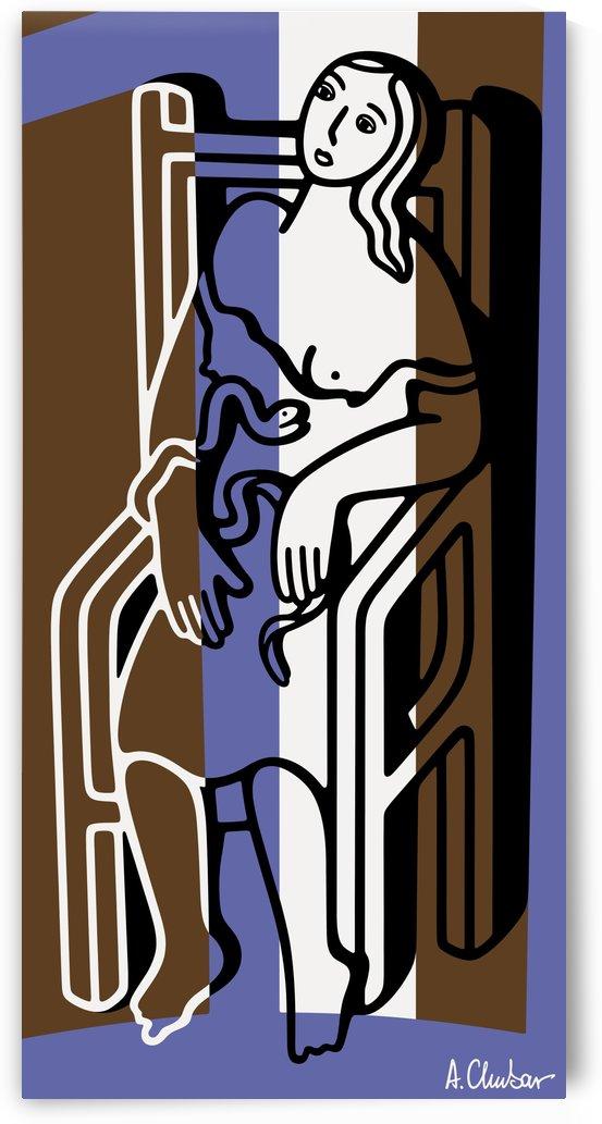 Death of Cleopatra by Alexander Chubar