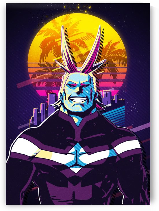 All Might 4 by DK Artwork