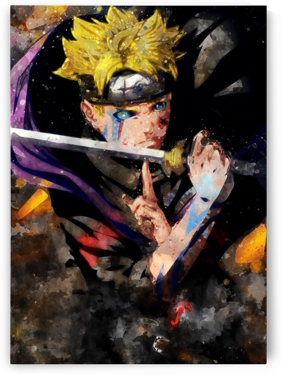 Uzumaki boruto by artwork poster