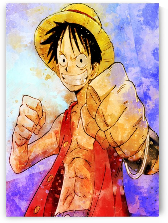 Luffy by artwork poster