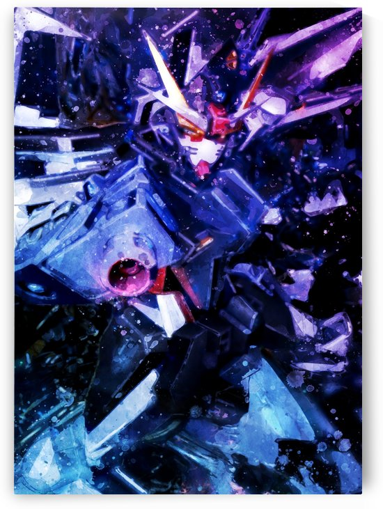 Gundam by artwork poster