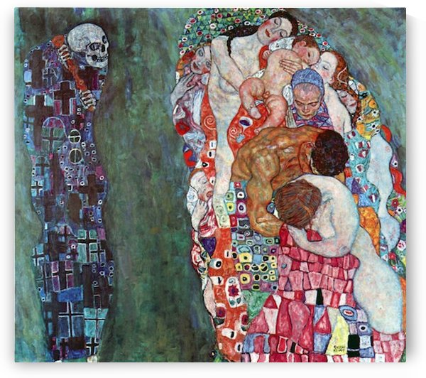 Death and Life by Klimt by Klimt