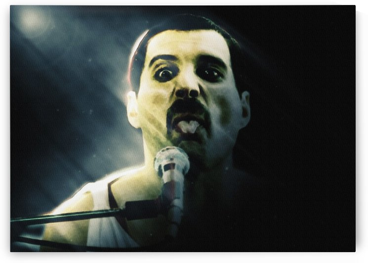 Freddie Mercury Flamboyant style in Piano by Gunawan Rb