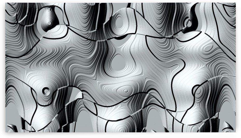 Rotations en gris Grey rotations by Createm