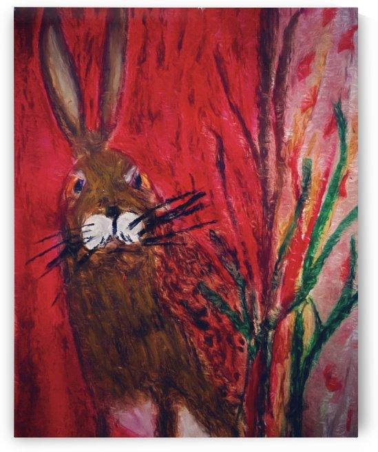 Red Rabbit by Aurelia Schanzenbacher Sisters Fine Arts