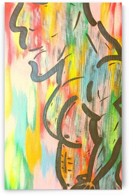 Rainbow Rambo by allin1fun