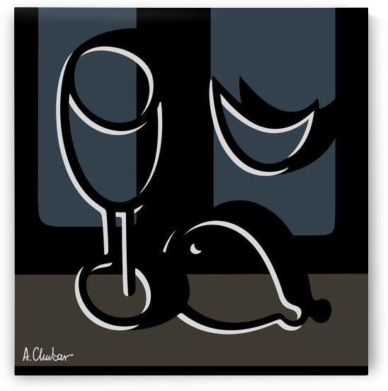 Still Life with a Goblet 1 by Alexander Chubar