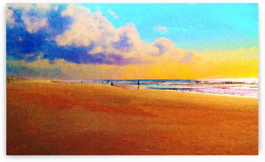Beach I by Carlos Wood
