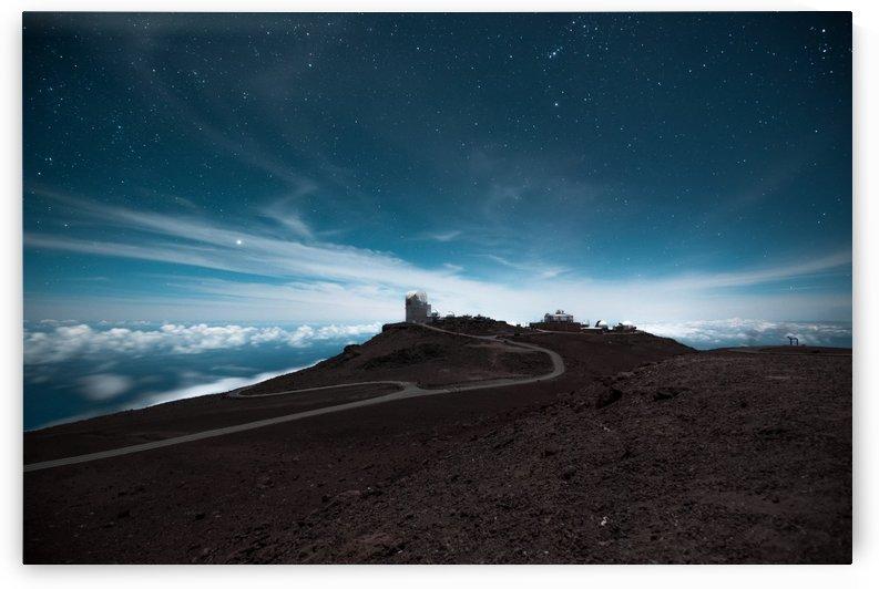 Haleakala at Night by Lucas Moore