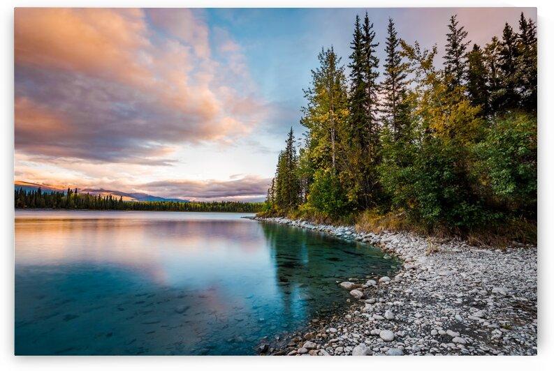 Boya Lake Sunset by Lucas Moore