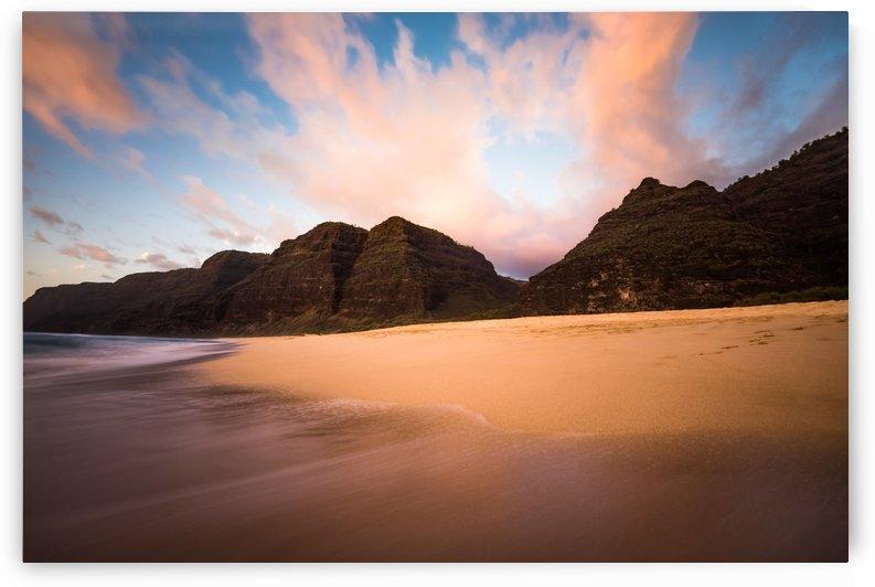 Kauai Beach Sunset by Lucas Moore