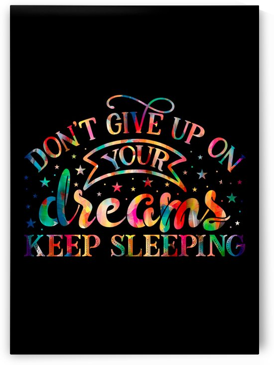 Dont Give up on Your Dreams by Artistic Paradigms