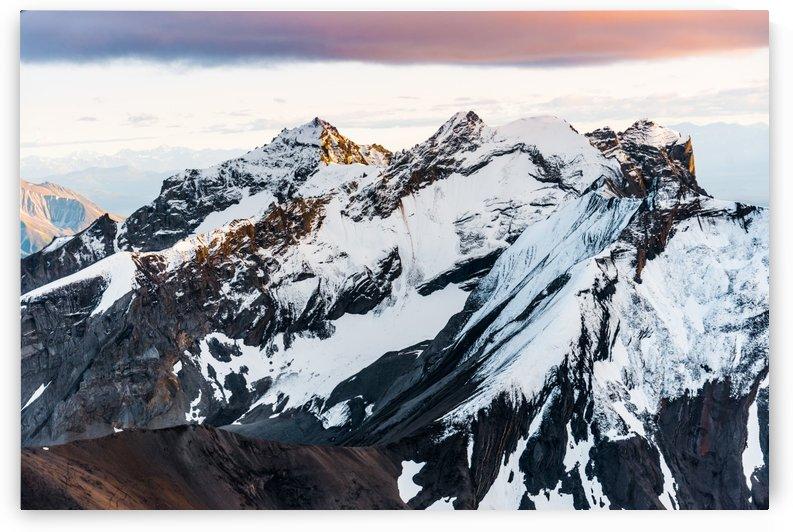 Sunset Peaks by Lucas Moore