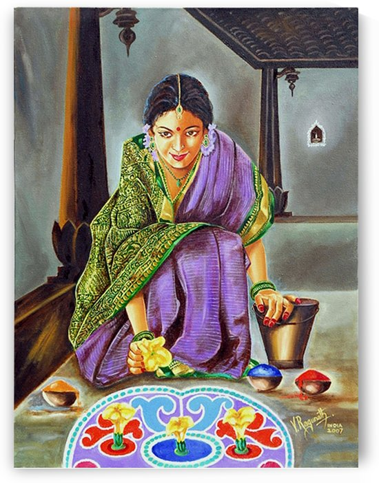 Beauty revealed- a 5000 year old artistic heritage by RAGUNATH SIDE VENKATRAMAN