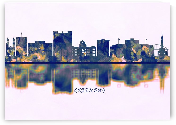 Green Bay Skyline by Towseef