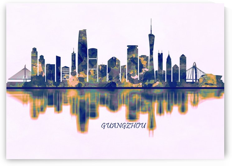 Guangzhou Skyline by Towseef Dar