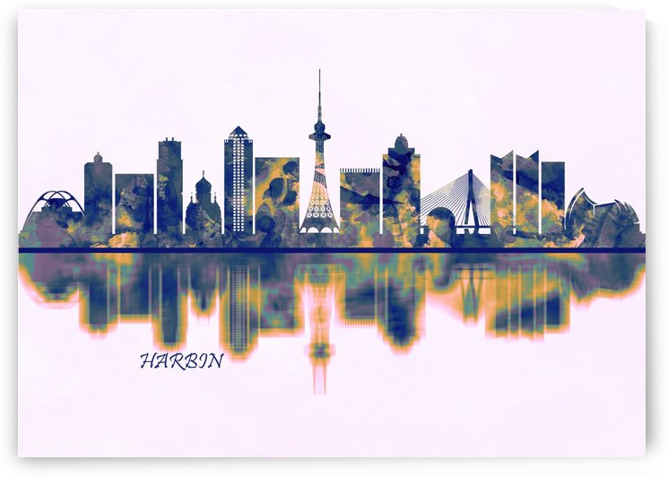 Harbin Skyline by Towseef Dar
